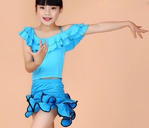 La ropa latina niñas ropa y trajes de danza del Teatro Vestuario
