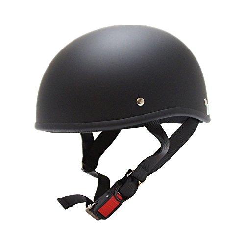 [ビーアンドビー] バイク用 ダックテールヘルメット SGマーク適合品 マットブラック フリーサイズ BB-700