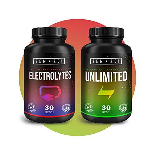 ZZ | RECOVERY STACK - Paquete de Suplementos Inteligentes 100% Veganos— Formulado para: Re-Energizar, Recuperar y Rehidratar el Cuerpo — 60 Cápsulas — Científicamente Formuladas | Calidad Premium