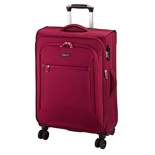 D & N Travel Line 6404 Koffer, 68 cm, 70L, Bordeaux