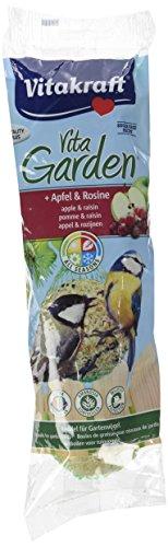Vitakraft Boules de Graisses Premium Pomme/Raisin pour Oiseau du Ciel 350 g - Lot de 6