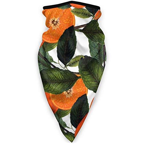 Máscara de color naranja prohibida a prueba de viento, bandana para la cara, polaina, pañuelo para pasamontañas