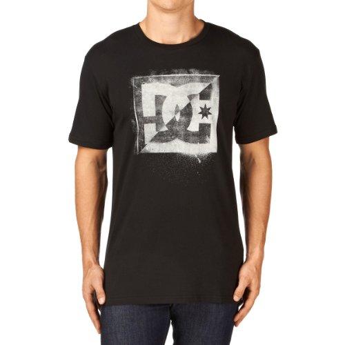DC Shoes POLUTION SS M Tees KVK0 T-Shirt Homme, Noir (Black), Large (Taille Fabricant: L)