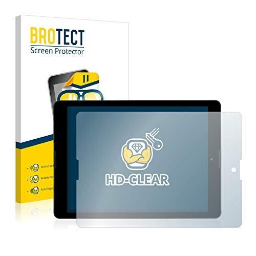 BROTECT Schutzfolie kompatibel mit Medion Lifetab P9702 (MD 60201) (2 Stück) klare Bildschirmschutz-Folie