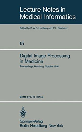 Digital Image Processing in Medicine: Proceedings, Hamburg, October 5, 1981 (Lecture Notes in Medical Informatics Book 15) (English Edition)