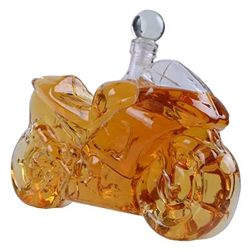 ZKDY Decantador, decantador de licores, decantador de Whisky, decantadores de Vidrio para Alcohol 750ml Decantador de Whisky
