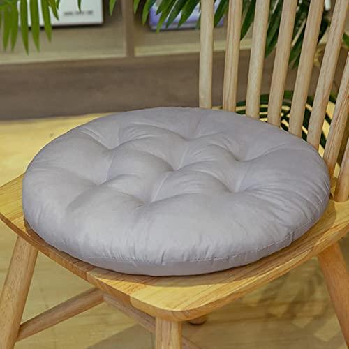 Cojín de silla de color sólido redondo cuadrado estudiantes oficina asiento cojín comedor decoración almohadas para dormitorio tatami al aire libre Mat decoración del hogar