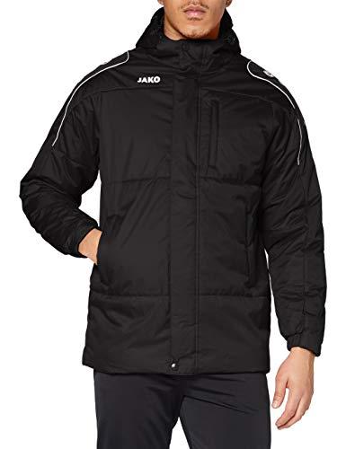 Jako Herren Jacke Coachjacke Active, schwarz/weiß, XL