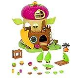 Li'l Woodzeez 64701Z - Juego de Figuras de Animales y Accesorios, 19 Piezas de Bellota con casa de árbol, Personaje y Accesorios - Casas en Miniatura y Juegos para niños a Partir de 3 años, Multi