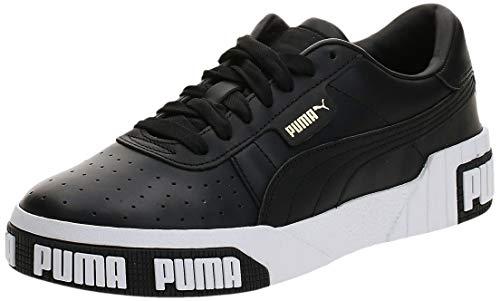 Puma Cali Bold D, Scarpe da Ginnastica Donna, Nero Black-Metallic Gold, 38 EU