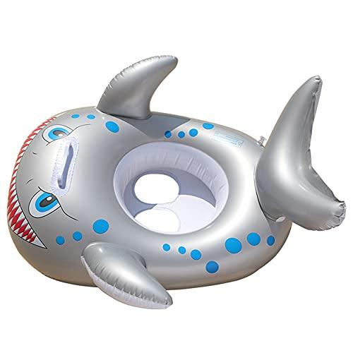 InnerSetting Anillo de asiento de los niños engrosado PVC inflable piscina de bebé círculo flotante