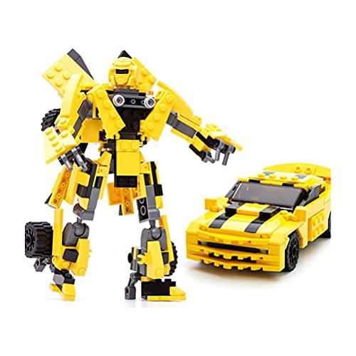 DKaony Transformers speelgoed figuur, Robot gebouw speelgoed, Animal Truck vervormde robot bouw blok speelgoed…