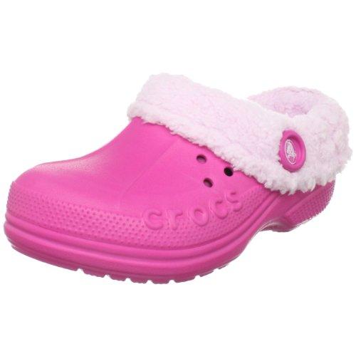 crocs Blitzen Kids 10799-68L-131 Unisex - Kinder, EU 32/33 pink (Fuchsia/Bubblegum) )