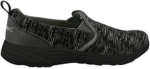 Vionic Women's Kea Orthotic Trainers (8.5 M US, Black/Charcoal Grey)