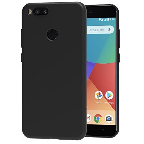 Ivoler Funda Carcasa Gel Negro Xiaomi Mi A1 / Xiaomi