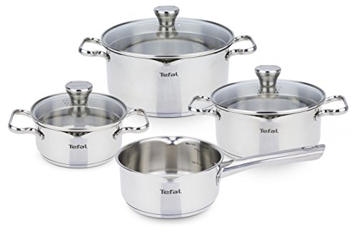 Tefal A705A834 Duetto Topfset 7-teilig, induktionsgeeignet