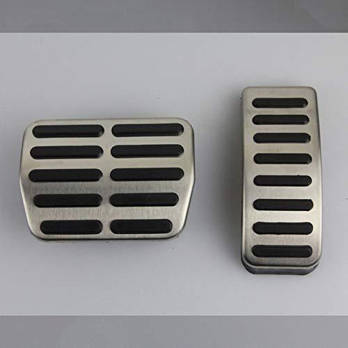 WZJFZPL Linkslenkerpedal, für Volkswagen Polo VW Golf 4 Bora Beetle RSi GTI R32, für Audi A3 SEAT Leon 1M Toledo 1L Edelstahl Pad Fußstütze