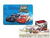 bbs IRPot- Set Colazione Disney Cars Tazza (CR17256) + TOVAGLIETTA