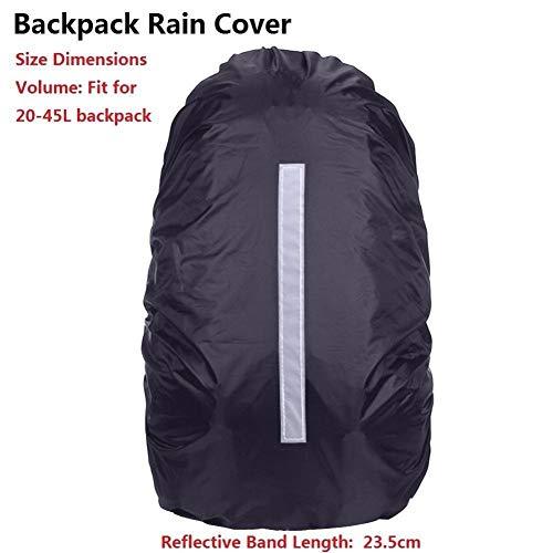 Impermeabile Borse Sport Sacchetto di Campeggio Esterno di Viaggio for Le Donne Gli Uomini Zaino Sport Cassa Spalla Zaino Zaino (Color : B Bag Rain Cover)