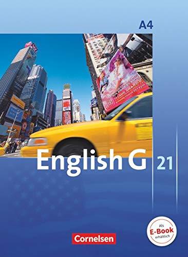 English G 21 A: Für Gymnasien 4: Schülerbuch - Kartoniert (English G 21: Ausgabe A)