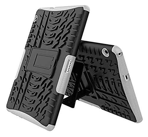 ZRH Accesorios De Pestañas para Huawei MediApad T3 10 T3 9.6 AGS-L09 AGS-L03 AGS-W09, Armor Silicone TPU + PC Tapa De Soporte a Prueba De Golpes para Huawei MediaPad T3 10 + Pen + Película
