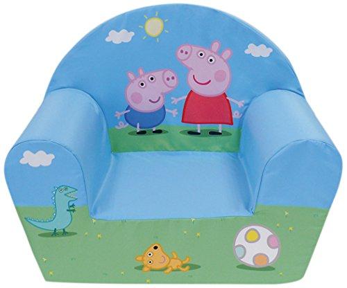 Fun House 712570 PEPPA PIG Fauteuil en mousse pour Enfant 52 x 33 x 42 cm