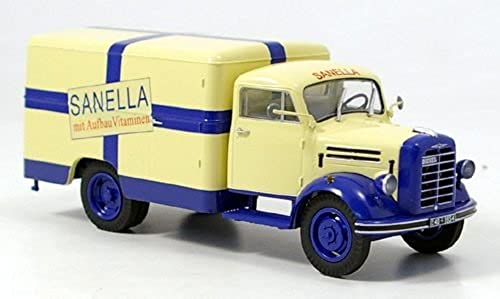 Borgward B 2500, Sanella, Kastenwagen, Modellauto, Fertigmodell, Schuco 1 43