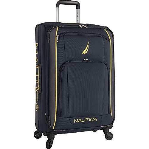 Nautica Luggage, Navy Yellow, 19