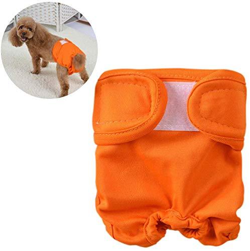 CHYIR Wiederverwendbare Hundewindeln, sehr saugfähig, maschinenwaschbar und umweltfreundlich, bequem und langlebig, Hunde-Hygiene-Höschen