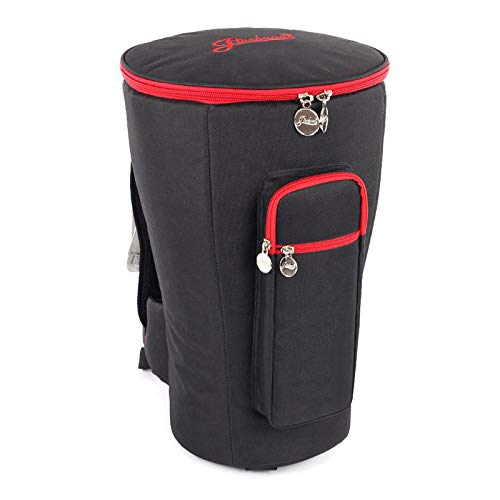 HOMDREAM Djembe Drum Bag Portable Oxford Fabric 8 '' Djembe Bag Container African Drum Parts Nero