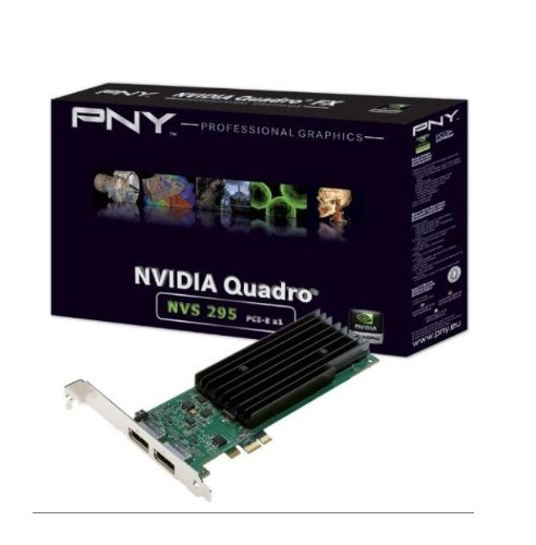Fujitsu nVIDIA NVS 290 Grafikkarte (PCI-e, 256MB DDR2 Speicher, 1 GPU) Full Retail