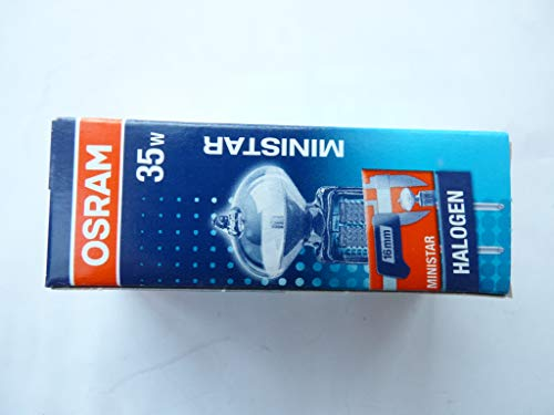 Osram Halogenglühlampe MiniStar Axial-Reflektor 12V, 35W, GY 6,35