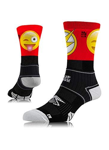 LUF SOX Performance Crew Elite Bolti - Socken für Damen und Herren, Unisex-Größe 35-38, 39-42 und 43-47, funktionell, für Sport und Freizeit