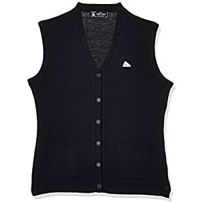 Monte Carlo Womens Sleeveless V Neck Cardigan Wool 11 41ZMu+rjFPL. SS300