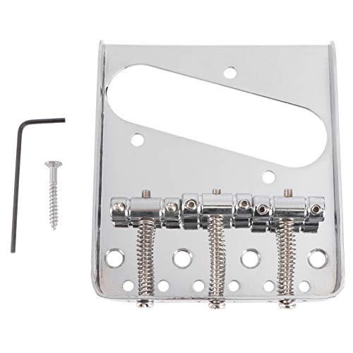 Healifty Cargador superior placa de puente de guitarra con llave de tornillo...