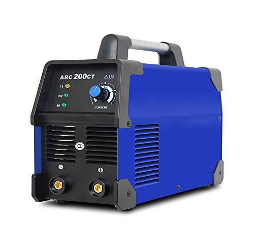 GOHHK Schweißgeräte, tragbare Schweißinvertermaschine, ARC-200CT Haushaltswechselrichter DC-Schweißmaschine, kleine elektrische Schweißmaschine 220V
