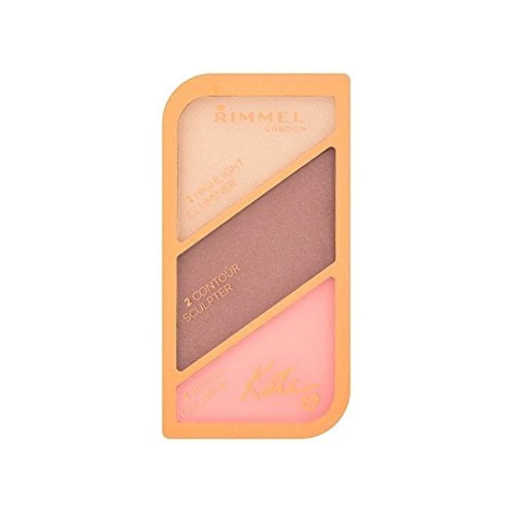 魅了する豚肉結紮リンメルケイト?モスの彫刻パレット黄金のブロンズ003 x4 - Rimmel Kate Moss Sculpting Palette Golden Bronze 003 (Pack of 4) [並行輸入品]