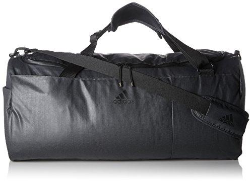 adidas Convertible Training Sporttasche, Carbon/Black/Hi-Res Blue, 60 x 29 x 29 cm
