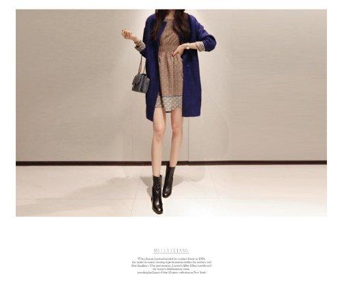 『(レディースファッションミューズ)Ladies Fashion Museレディース長袖エレガントなコート M』の3枚目の画像