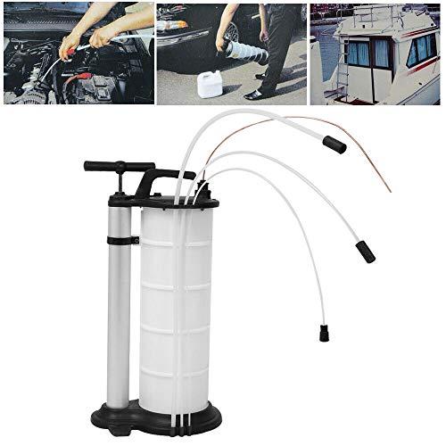 HaroldDol Ölabsaugpumpe 9L mit 3 Tubes, DolAbsaugpumpe Flüssigkeitsabsaugpumpe Ölabsauger Öl Handpumpe Umfüllpumpe Oil Extractor Pumpe