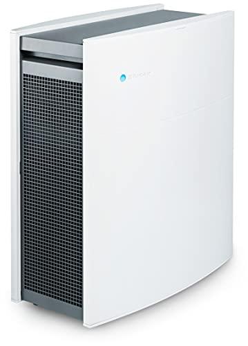 Blueair Classic 480i Luftreiniger mit SmokeStop-Filter ideal bis 40 m² (HEPASilent entfernt 99,97% Pollen, Staub, Viren, Bakterien, Gerüche, Rauch, Tierhaare, etc) sehr leise, WLAN