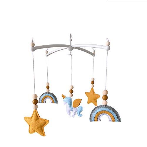 Nicole Knupfer Móvil de viento para bebé, para niños y niñas, carillón de viento, campanas de cama, cuna móvil, regalos recién nacidos (CL-05)