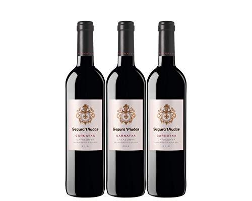 Segura Viudas Vino Tinto Garnatxa - pack de 3 de 750 ml - Total: 2250 ml