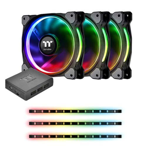 Thermaltake Riing Plus 12 RGB Radiator Fan Lumi Plus TT Premium Edition Combo Kit