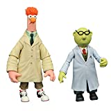 DIAMOND SELECT TOYS The Muppets Best of Series 2: Bunsen Honeydew & Beaker Action Figure Two-Pack