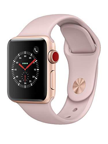 Apple Watch Series 3 38mm (GPS + Cellular) Rosa Sabbia (Ricondizionato)
