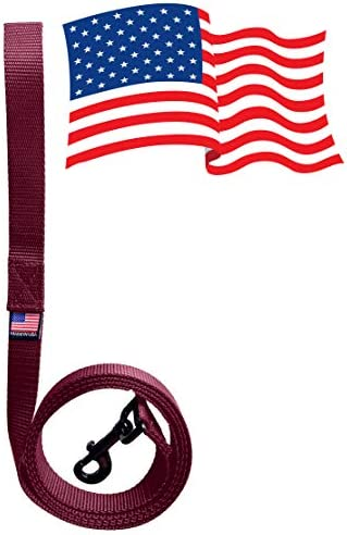 Enterprises Dog Leash Lead 6 Foot with Swivel Snap Bolt Made in The USA of 1 Polypro Heavy Weight product image