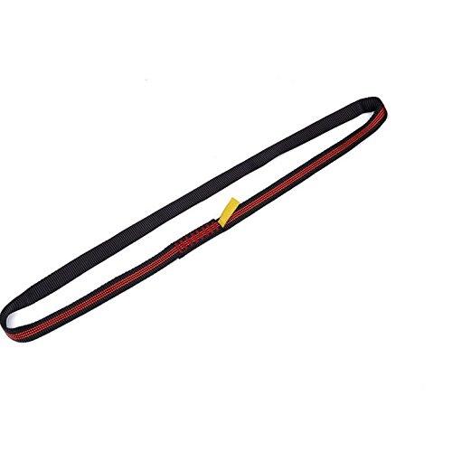 Sangle d'escalade avec protection Livré avec tiges et écrous équipement/Randonnée/Sangle haute résistance à l'usure, 220 cm