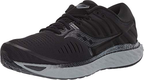 Saucony Men's Hurricane 22, Blackout, 12.5 Medium