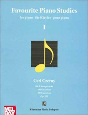 Cherny, Favourite Piano (Music Scores)